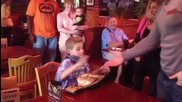 Шеймъс зарадва фен на рождения му ден