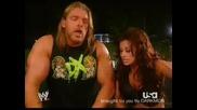 Wwe Triple H И Candice Michele Се Превъзбуждат