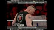 Brock Lesnar Attacks John Cena after his match // Wwe Raw Supershow, 9.4.2012