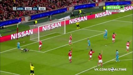 Бенфика - Зенит 1:0 *шампионска Лига*