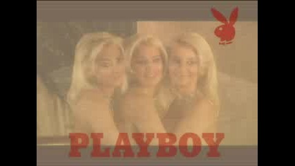 Тризначките В Playboy