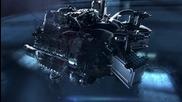 Нoвият двигател от Mercedes-benz - Amg 4.0-litre V8 biturbo engine.