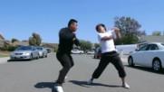Martial Artist Vs Street Thugs Karate Kungfu Tekwondo Ninja Samuray Film Menejer 2016 Hd