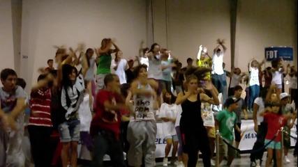 Репетиция на танц за On! Fest (4g)