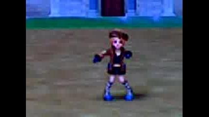 Герой От Rose Online Танцува На Песента Burnin Up - Jonas Brothers