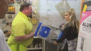 "Natalya and Jim ""The Anvil"" Neidhart go ladder shopping before her upcoming Ladder Match: Total Divas, Nov. 1, 2017"