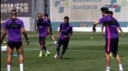 Тренировката днес 3.06.2015 /fc Barcelona training session- preparations continue for Berlín
