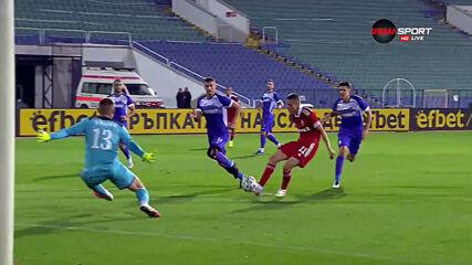 Втори гол на ЦСКА 1948 – Етър