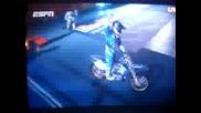 *Robby Madison Amazing Motorcycle Jump *
