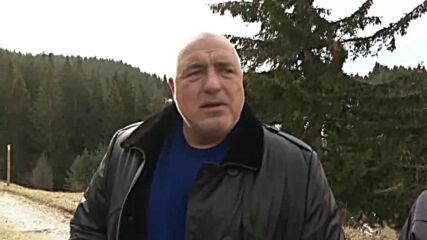 Борисов: В рамките на 4 месеца вече ще има асфлатова настилка на пътя Първенец- Лилково