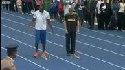 Prince Harry vs Usain Bolt