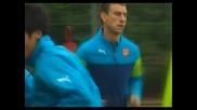 """Арсен Венгер очаква истинско дерби срещу """"Тотмън"""""""