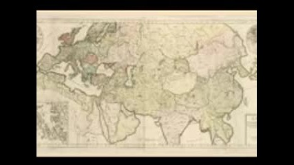 България в картографията на Изтока и Запада
