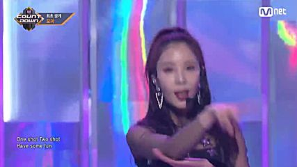 [ Comeback Stage] Boa - One Shot, Two Shot @ 180222 M!countdown