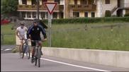 Германците въртят педали в Южен Тирол без капитана си