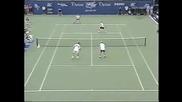 Us Open 2002 : Родик/ Блейк - Агаси/ Сампрас (демонстративен мач)