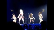 Girlicious - Like Me break down @ The circus starring Britney Spears