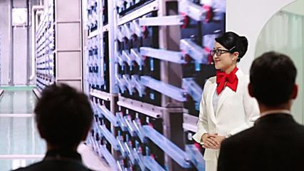 Japan: Developers show off new humanised robots at CEATEC