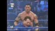 Batista Vs Rey Mysterio