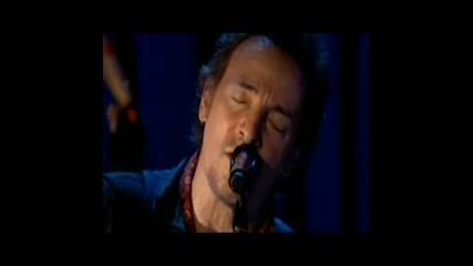 Bruce Springsteen - We shall overcome Live