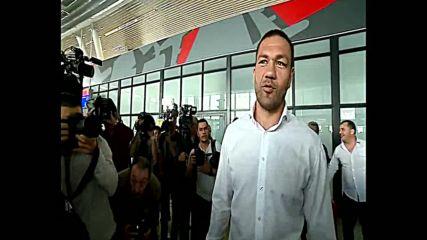 Шампионското посрещане на Кубрат Пулев в България