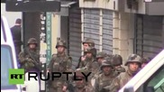 France: Soldiers patrol Saint-Denis as manhunt launched for Paris attack suspects