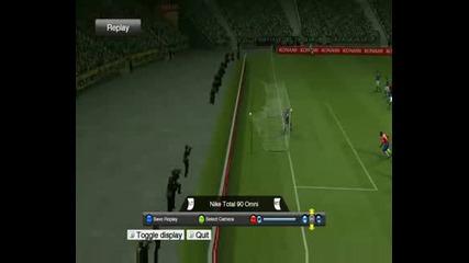 Mn Dobur Gol Na Ronaldinho Na Pes 2009