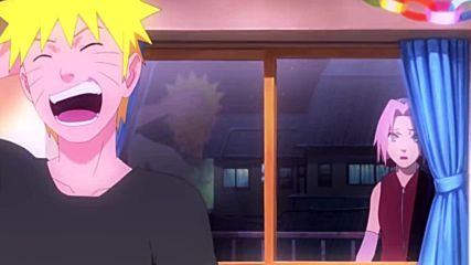 ~ Amv: Naruto Shippuuden - Остани до мен + Текст