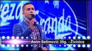 Asim Selimovic i Milan Stojcinovic - Splet pesama - (Live) - ZG 3 Krug 2013 14 - 19.04.2014. EM 28.