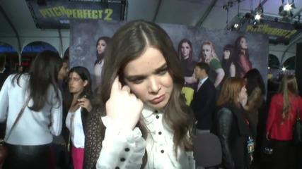 Pitch Perfect 2 Premiere: Hailee Steinfeld
