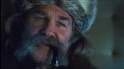 Омразната осморка - трейлър 2 с Бг Субтитри ~ уестърн (2015) The Hateful Eight Official Trailer 2 hd