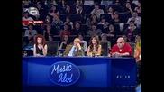 Лудия Иван показва как пее на цигански бърка си в пъпа - абе нямам думи!!!:) music idol - 31.03.08 HQ
