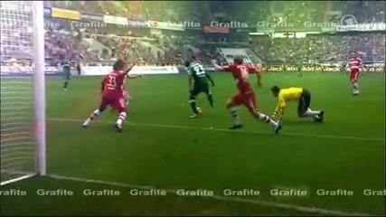 Страхотен гол на Графите срещу Байерн Мюнхен