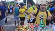 Brazil: Rio fans show support during Switzerland match