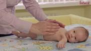 Още две масажни техники за облекчаване на бебешки колики