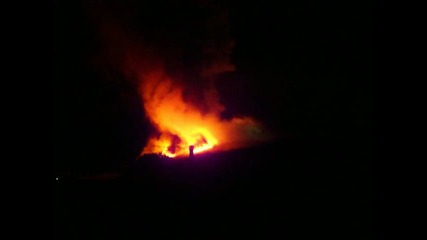 Голям пожар в Гърция