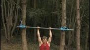 Закаляване на тялото за паркур и фрийрън- силово упражнение. Parkour and freerun.