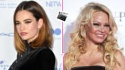 Лили Джеймс влиза в ролята на Памела Андерсън, но едрогърдата блондинка била бясна