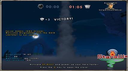 Battlefield Heroes Commando Gameplay