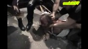 Лобо и компания изнасилват Джон Зандиг - [ Cage Of Death I V ]