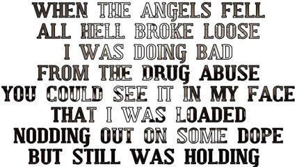 Conejo - When The Angels Fell (with Lyrics On Screen)