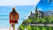 Най-опасният плаж и най-красивият замък в България!