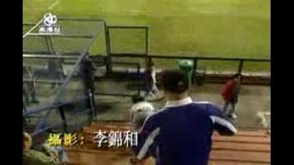 Китайски бой между футболни фенове
