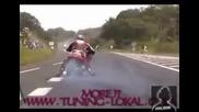 Powerful hayabuza suzuki drag race