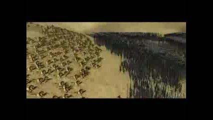 Играта Lotr:total War - Rohan Интро