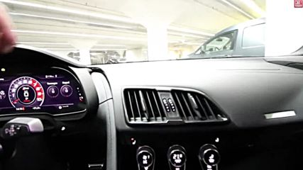 Inside the New Audi R8 V10 Rws 2018 - Interior Exterior Details