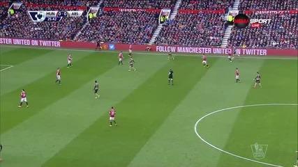 Пълният лазарет на Юнайтед гледа дербито от трибуните