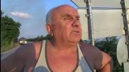 Голям горски пожар гори в дерето на Павльовия мост - видео БГНЕС