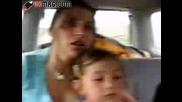 7 годишно дете кара кола!!