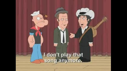 Зад сцената с Боб Дилън
